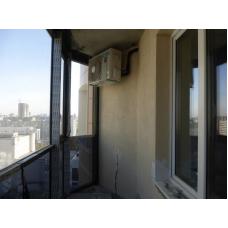 Мульти сплит-система. Наружный блок на балконе.